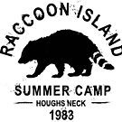 SUMMER CAMP - Raccoon Island 1983 by houghsneckt