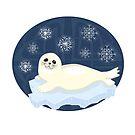 Niedlicher Winter-Siegel von Elsbet
