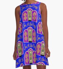 TV Game Show - TPIR (The Price Is...)Spin It Like Crazy! A-Line Dress