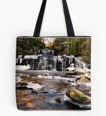 Cotter Force in the ice! Tote Bag