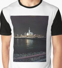 New York Night Graphic T-Shirt