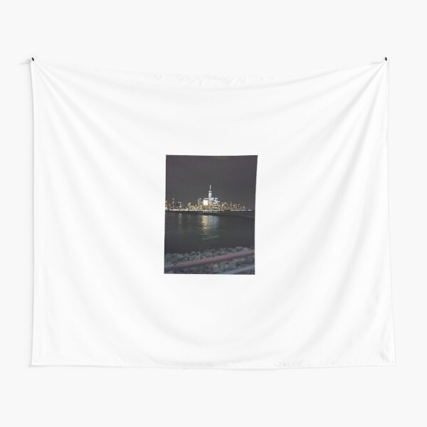 New York Night Tapestry
