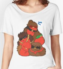 Go!Robins! - A pile of Robins Women's Relaxed Fit T-Shirt