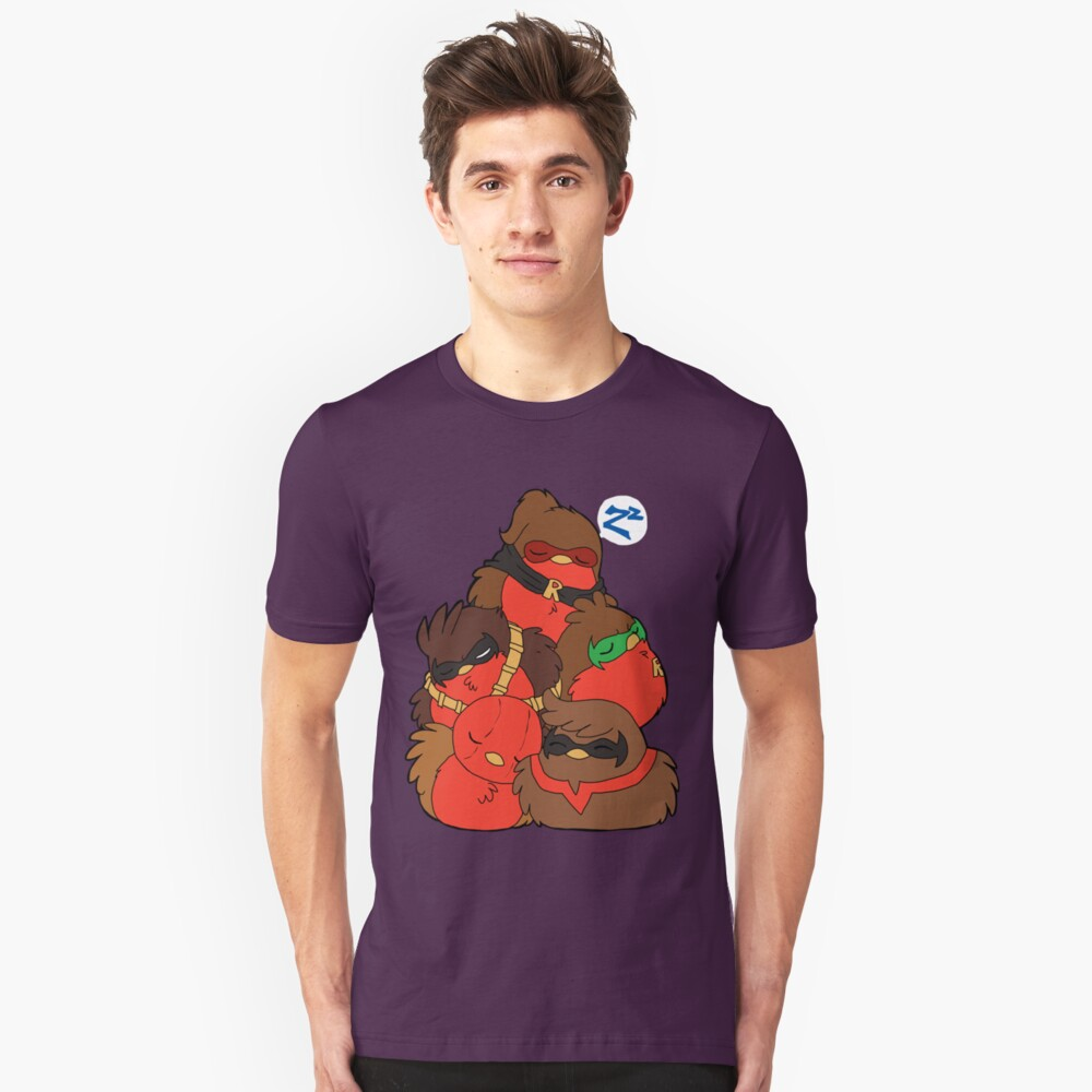 Go!Robins! - A pile of Robins Slim Fit T-Shirt