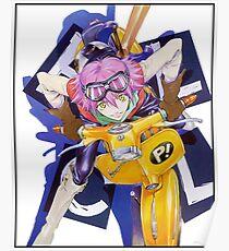 FLCL Haruko Poster