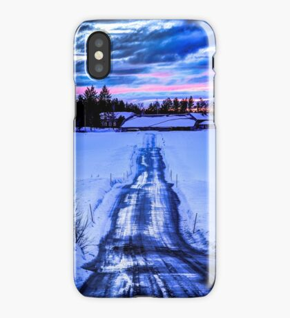 PRIVATE ROAD [iPhone-kuoret/cases] iPhone Case