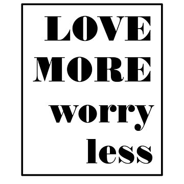 Amar más preocuparse menos de Orce