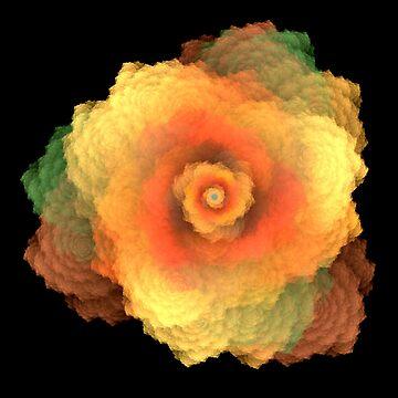 Autumn Flower by Desmo