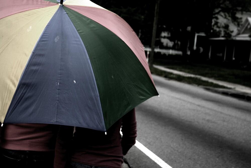 Wanderings of an umbrella by Brittany Biel