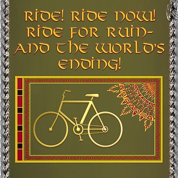 Bicycle Rohirrim by Vicfilter
