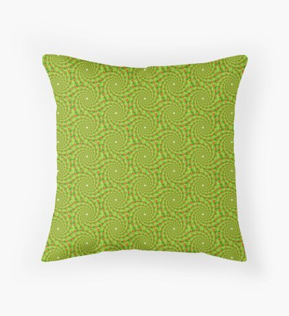Spiral Poppies Floor Pillow