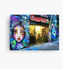 Hosier Lane Coffee Shop Canvas Print