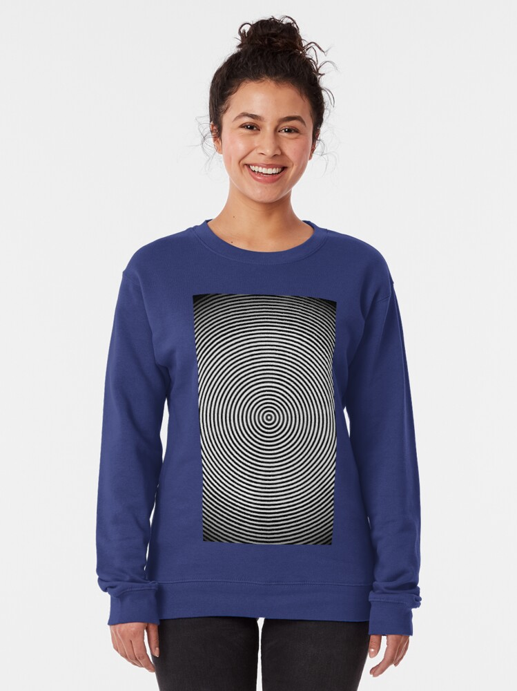 Alternate view of Amazing optical illusion Pullover Sweatshirt