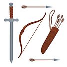 Arrow set by Elsbet
