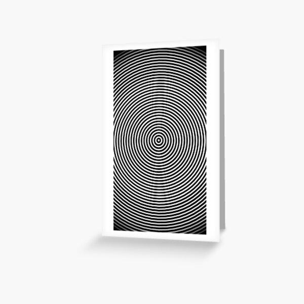 Amazing optical illusion Greeting Card