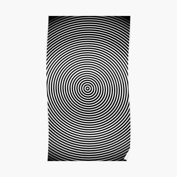 Amazing optical illusion Poster