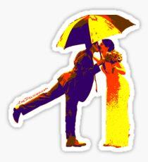 Umbrella Kiss Sticker