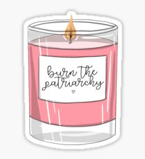 Burn the Patriarchy Sticker