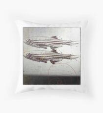 « des poissons » Throw Pillow