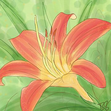 Daylily by PenguinLeaf