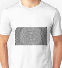 Amazing optical illusion Unisex T-Shirt