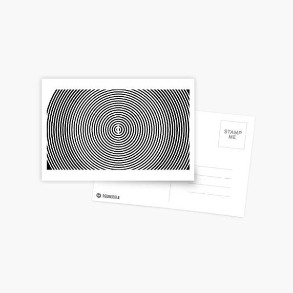 Amazing optical illusion Postcard