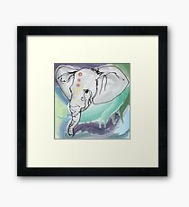 Tranquil Elephant Framed Print