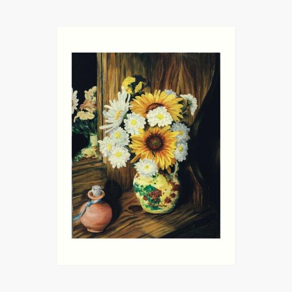 Regina's Flowers Art Print