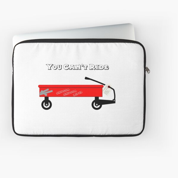 Little Red Wagon Laptop Sleeve