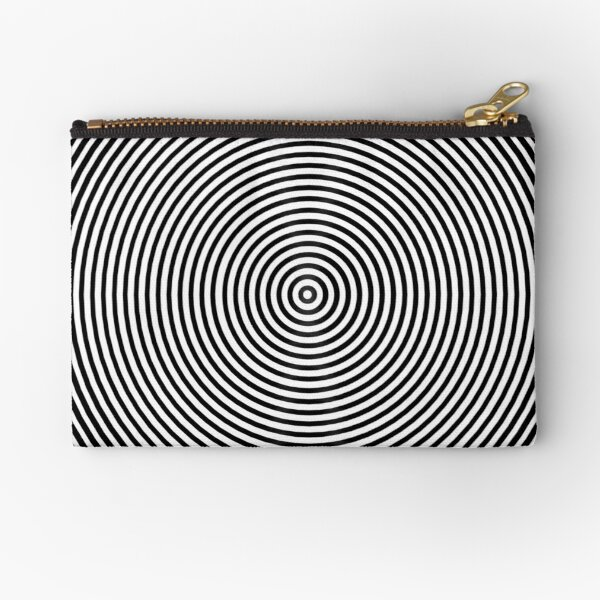 Amazing optical illusion Zipper Pouch