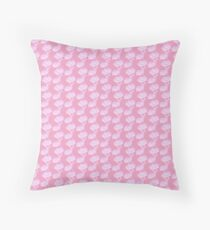 Pale Pink Flower Floor Pillow