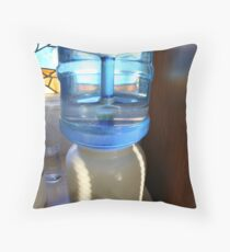 Water Man Throw Pillow