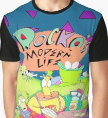 Rocko's Modern Family Graphic T-Shirt