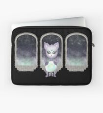 Mystic Miku | Crystal Ball & Zodiac | Black Laptop Sleeve