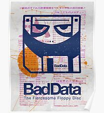 Bad Data: Pandamonium (Navy Blue) Poster
