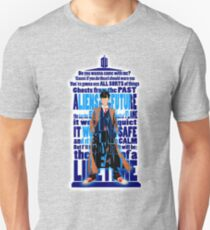 time traveller Quotes Typograph Unisex T-Shirt