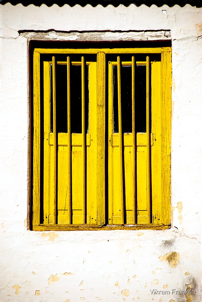 Yellow Window by Vikram Franklin