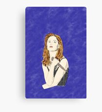 Buffy the Vampire Slayer —Watercolor Canvas Print