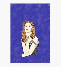 Buffy the Vampire Slayer —Watercolor Photographic Print