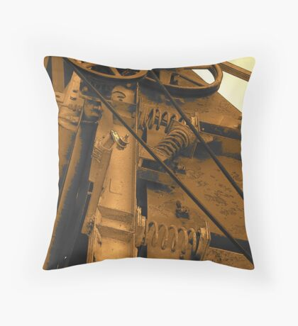 The New And Improved US Postal Machine Throw Pillow