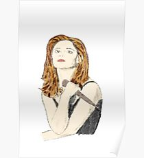 Buffy the Vampire Slayer - Watercolor Poster