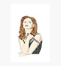 Buffy the Vampire Slayer - Watercolor Photographic Print