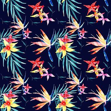 Birds of Paradise by Kalaiicreations