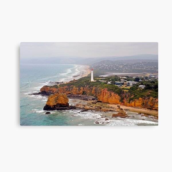 Split Point Lighthouse, Aireys Inlet 130106 SPLab Canvas Print
