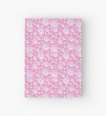 Pale Pink Flower Hardcover Journal