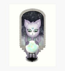 Mystic Miku | Crystal Ball | Close up Art Print