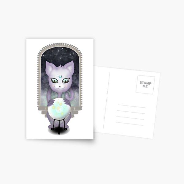 Mystic Miku | Crystal Ball | Close up Postcard