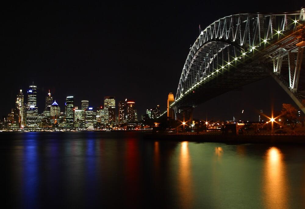 Bridge to Sydney by Henk Bender