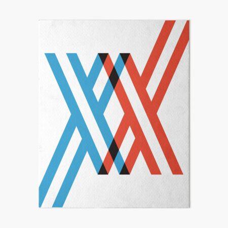 Darling in the FranXX - XX Art Board Print