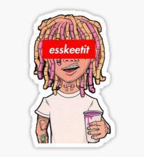 Lil Pump Eskeetit Sticker